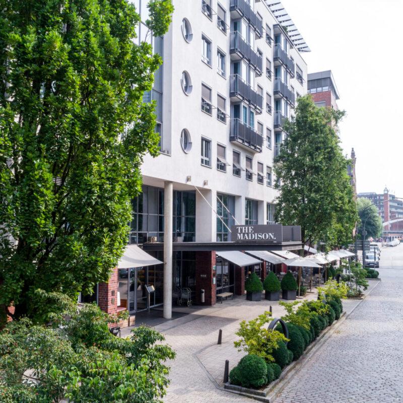THE MADISON Hotel Hamburg Aussenansicht