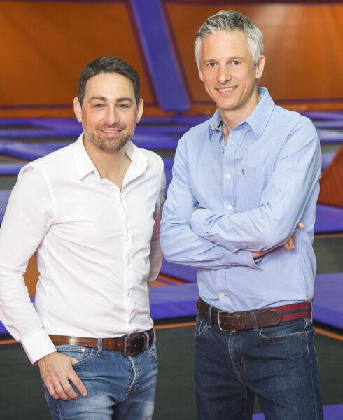 JUMP House Hamburg Geschäftsführer Till Walz und Christoph Ahmadi
