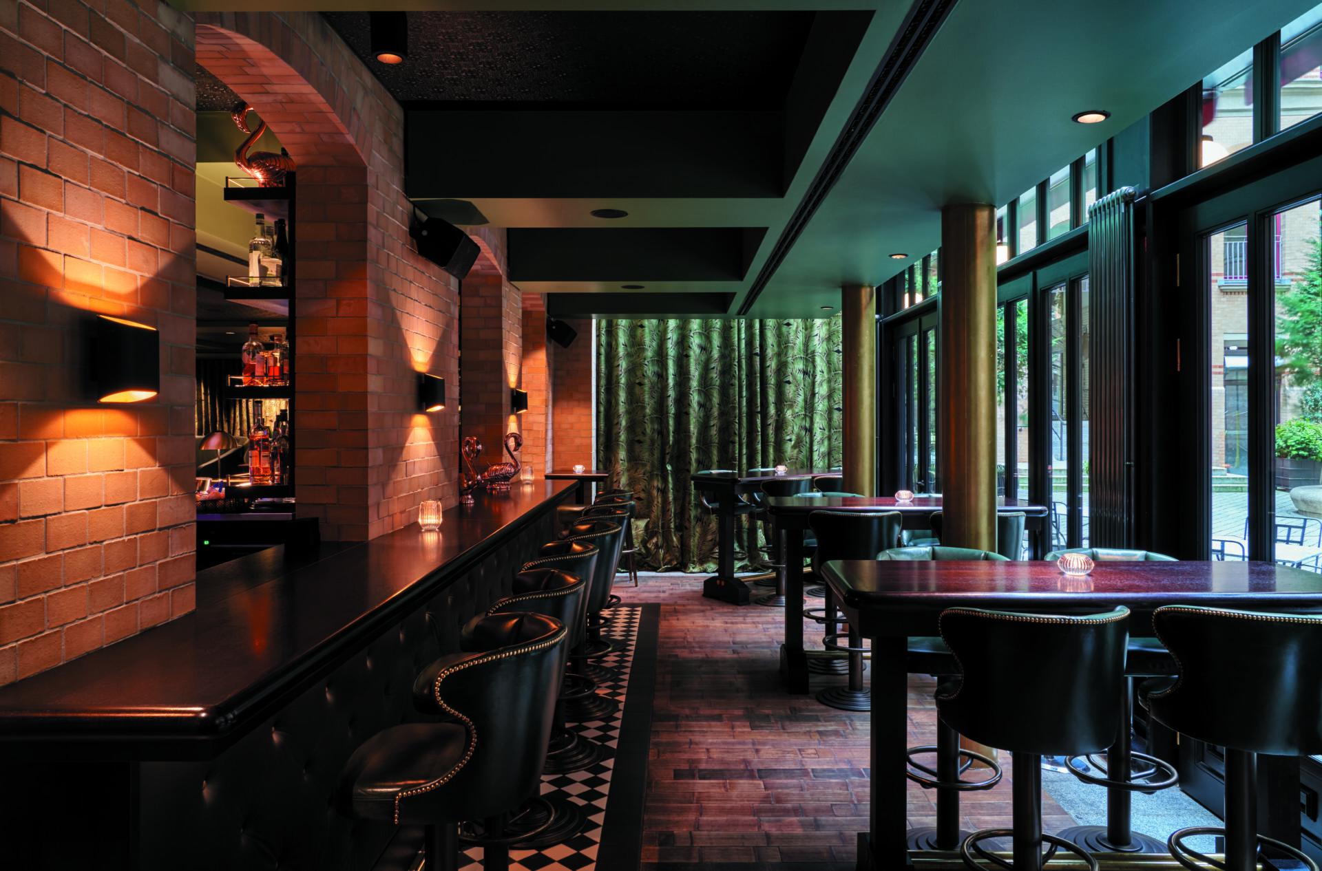 bar noir Tortue Hamburg Hotel Bar Innenstadt