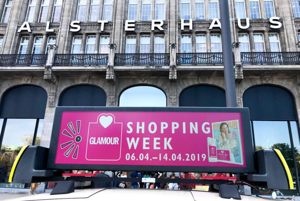 TAXi-AD Digitale Taxidachwerbung Hamburg effiziente und digitale Außenwerbung für Firmen Unternehmen
