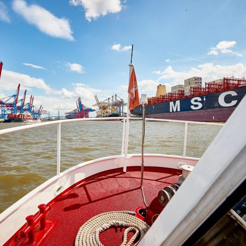 Barkassen-Meyer Hamburger Hafen Hafenrundfahrt Barkassen Fahrgastschiffe Elbe Charter