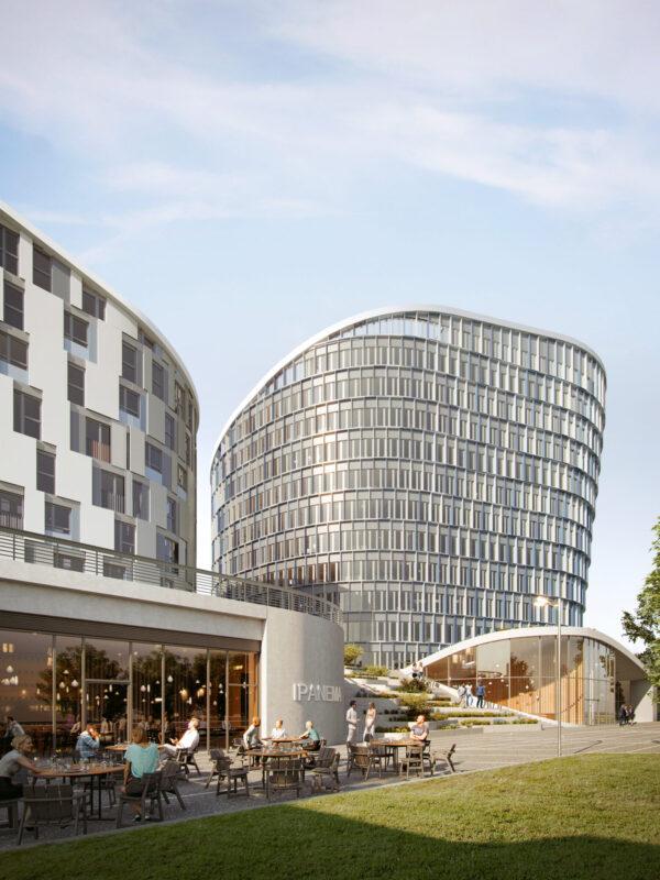 Richard Ditting GmbH & Co. KG Bauunternehmen Zukunftsstadtteile Quartiere SAGA Wohnungsbau Bürogebäude Geschäftsgebäude