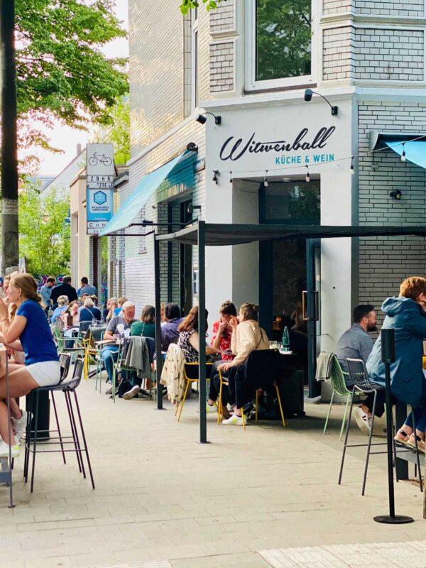 WITWENBALL KÜCHE & WEIN SINCE 1922 Zwanziger Jahre Weinbar Restaurant hanseatisch modern bio ökologisch natürlich