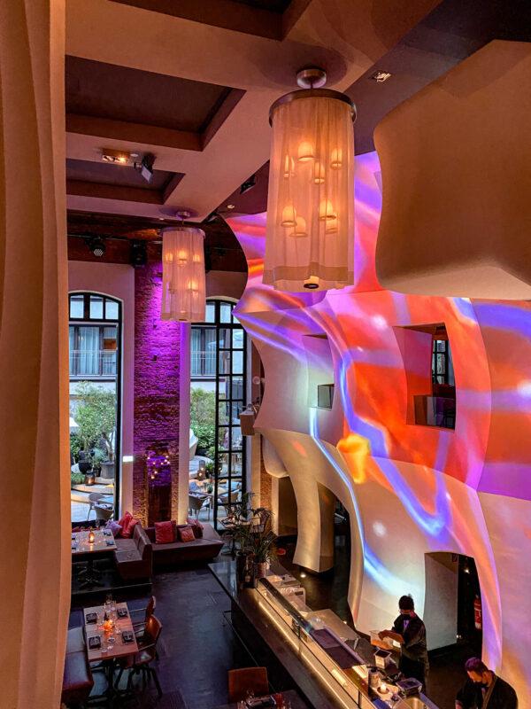 east Hotel und Restaurant 4 Sterne Designhotel Hamburg Innenstadt St. Pauli Planten un Bloomen Reeperbahn Kiez