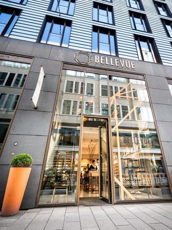 BELLEVUE FINEST INDIVIDUAL EYEWEAR Hamburg regionale und internationale Designer Brillen Sehanalyse, Augen-Untersuchung, Sehstärkenprüfung und Brillenglas-Beratung