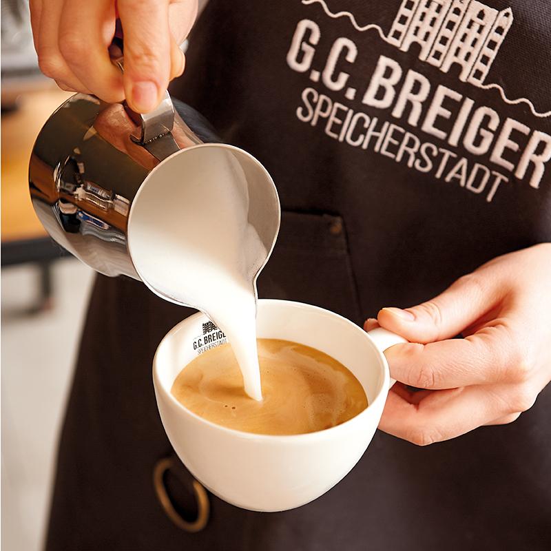 G. C. Breiger Hamburger Speicherstadt Barista Kaffee